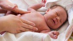 Как сбить температуру новорожденному
