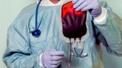 Как делают переливание крови