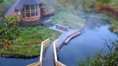 Where in Russia there are hot springs