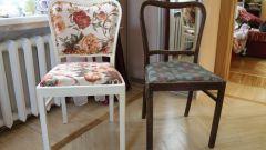 Как отреставрировать мягкие стулья