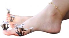 Как передается грибок на ногах