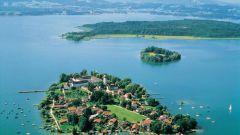 Уникальное баварское озеро Кимзее