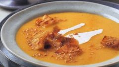 Пряный суп-пюре из пастернака