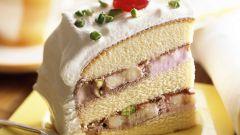 """Торт-десерт """"Шоколадно-банановый мусс"""""""