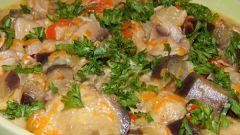 Баклажаны с грибами в сырном соусе