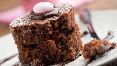 Как приготовить кекс с какао