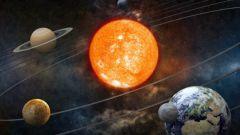 Какая планета третья от Солнца