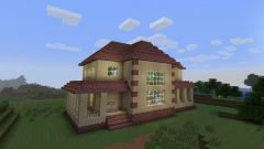 As aprivately house in Minecraft