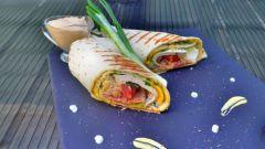 Сэндвич-ролл с индейкой