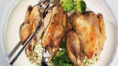 Фаршированная курица по-тулузски