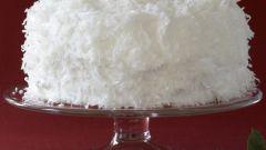 Готовим кокосовый торт
