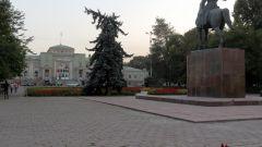 Где располагается город Фрунзе