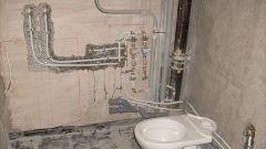 Как снять заглушку на канализации