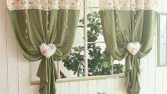 Как украшать шторы