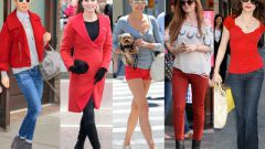 Как и с чем сочетается красное в одежде