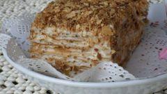 Как готовят торт Наполеон в кондитерских