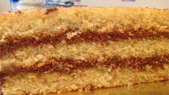 Готовим ореховый бисквит