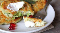 Как приготовить овощные оладьи с рикоттой