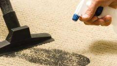 Как очистить ковролин от загрязнений