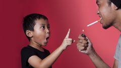 Как курение родителей вредит детям