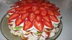 Вкусный торт на скорую руку