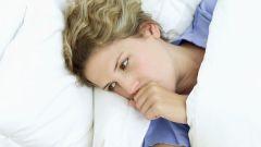 Как избавиться от приступов кашля ночью