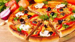 Какую приготовить грибную пиццу