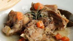 Как приготовить в маринаде мясо кролика