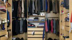 Как обустроить гардеробную