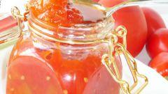 Томатный джем, или восхитительный соус к мясу или птице