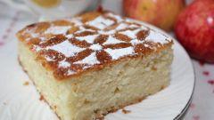 Как приготовить яблочный манник