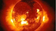 Какого размера солнце