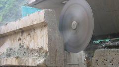 Как резать плиту перекрытия