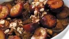 Как приготовить баранину со сливами