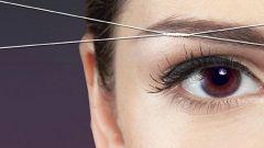 Как выщипать брови ниткой в домашних условиях