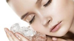 Польза от умывания льдом