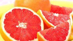 Как грейпфрут сжигает жиры