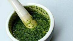 Как приготовить зеленый соус песто