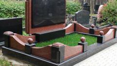 How to mount a granite monument in the cemetery