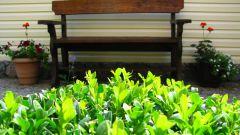 Как сделать деревянную садовую скамейку