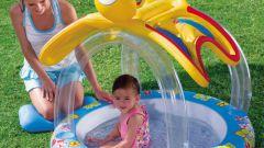 Как выбрать детский надувной бассейн