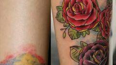 Как перекрыть татуировку