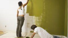 Как перекрасить стены