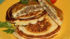 Рецепт пышных оладий с припеком