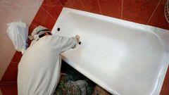 Как самостоятельно восстановить эмалевое покрытие ванны