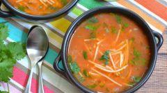 Как приготовить суп с вермишелью в мексиканском стиле