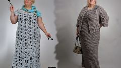 Knitted dresses for fat women