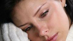Как нужно сдерживать себя, чтобы не заплакать