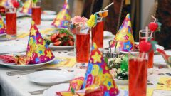 How to decorate table for birthday child: interesting ideas