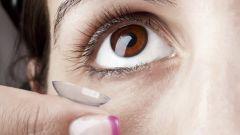 Цветные линзы для темных глаз